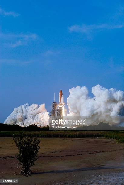 Space Shuttle Endeavour launch.