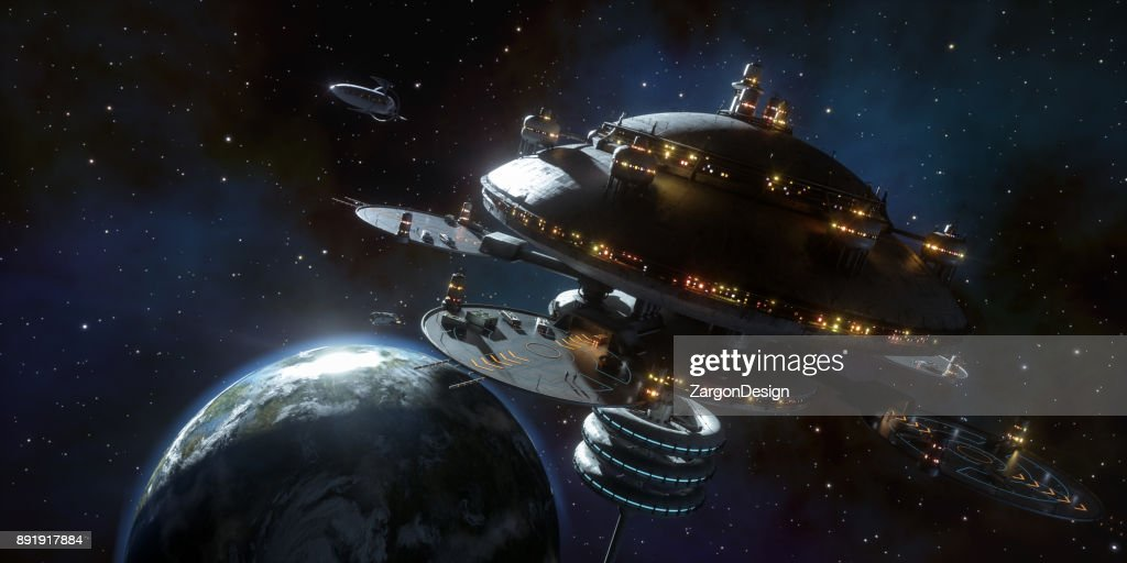 Space Station : Stock Photo