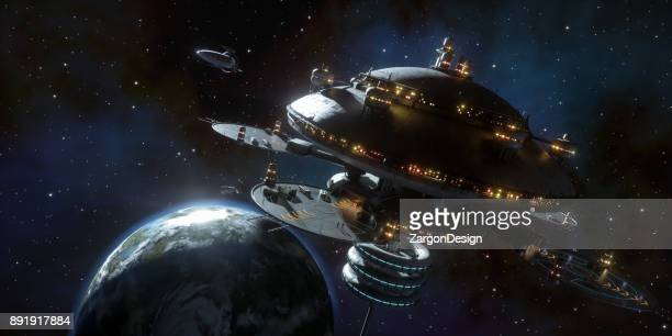space station - space station stock pictures, royalty-free photos & images