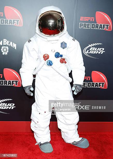 Space Suit attends the 10th Annual ESPN The Magazine PreDraft Party at The IAC Building on April 24 2013 in New York City