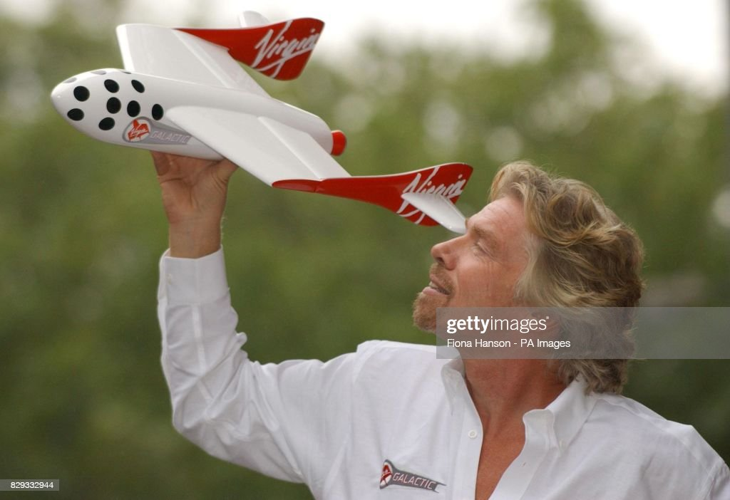 Sir Richard Branson Virgin Galactic Pictures Getty Images