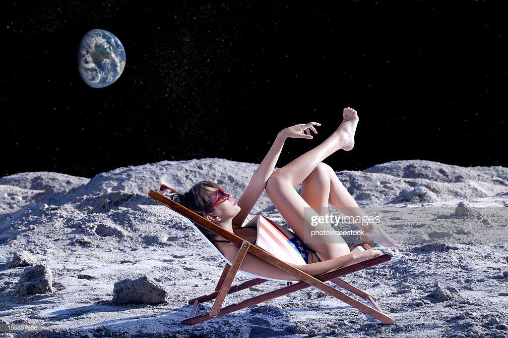 Space Tourism : Stock Photo
