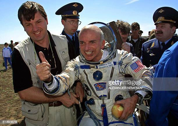 UNS: 28th April 2001 - Dennis Tito Becomes First Paying Passenger In Space