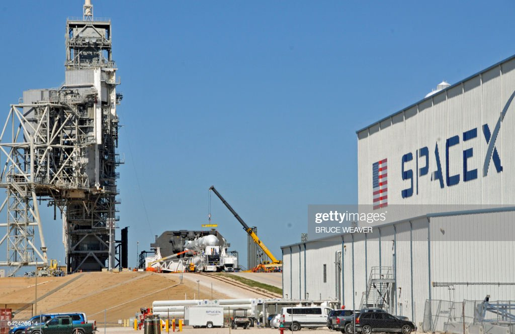 US-SCIENCE-STATION-SPACEX-TECHNOLOGY : News Photo