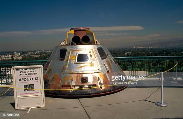 Spacecraft of the 'Apollo 13' film at the Universal studios