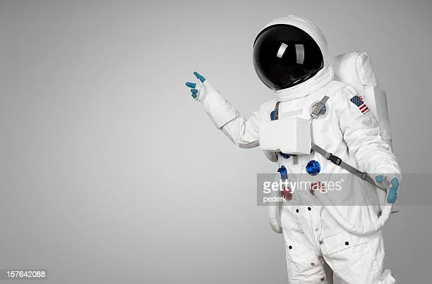 spaceman showing - astronaut stock pictures, royalty-free photos & images