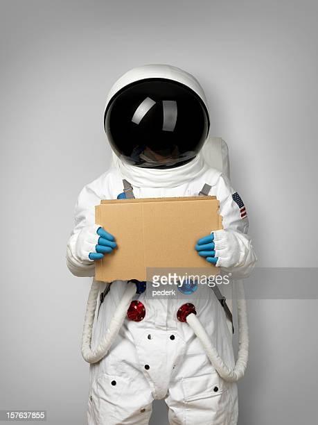 Spaceman wants lift