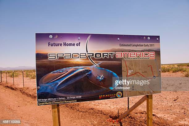 Spaceport America Site in New Mexico