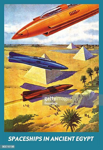 Spaceships in Ancient Egypt