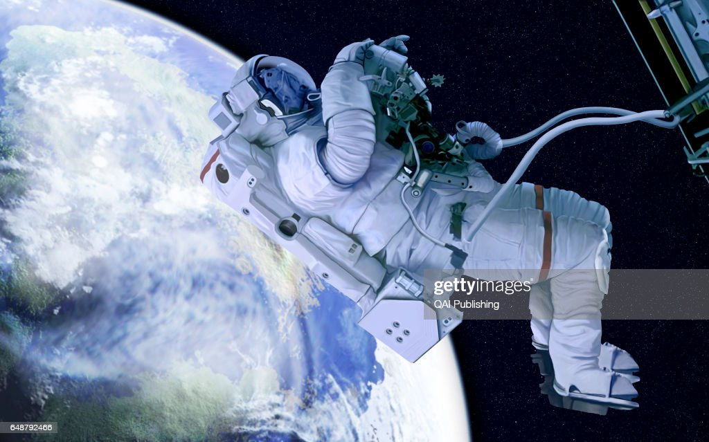 Spacesuit : News Photo