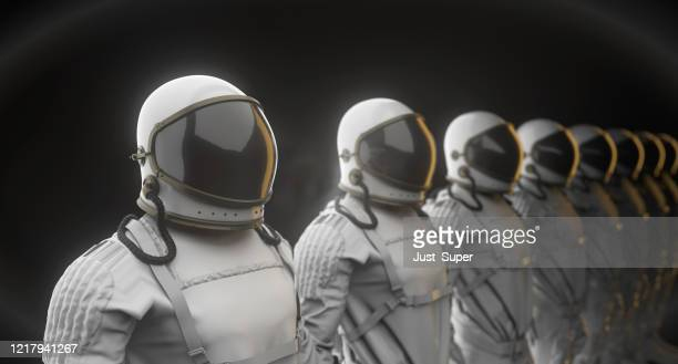 spacesuit, astronaut, mars exploration - international space station stock pictures, royalty-free photos & images