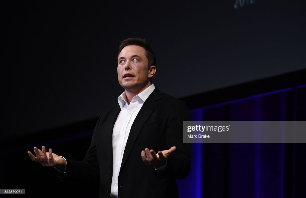 Elon Musk Presents SpaceX Plans To Colonise Mars : ニュース写真