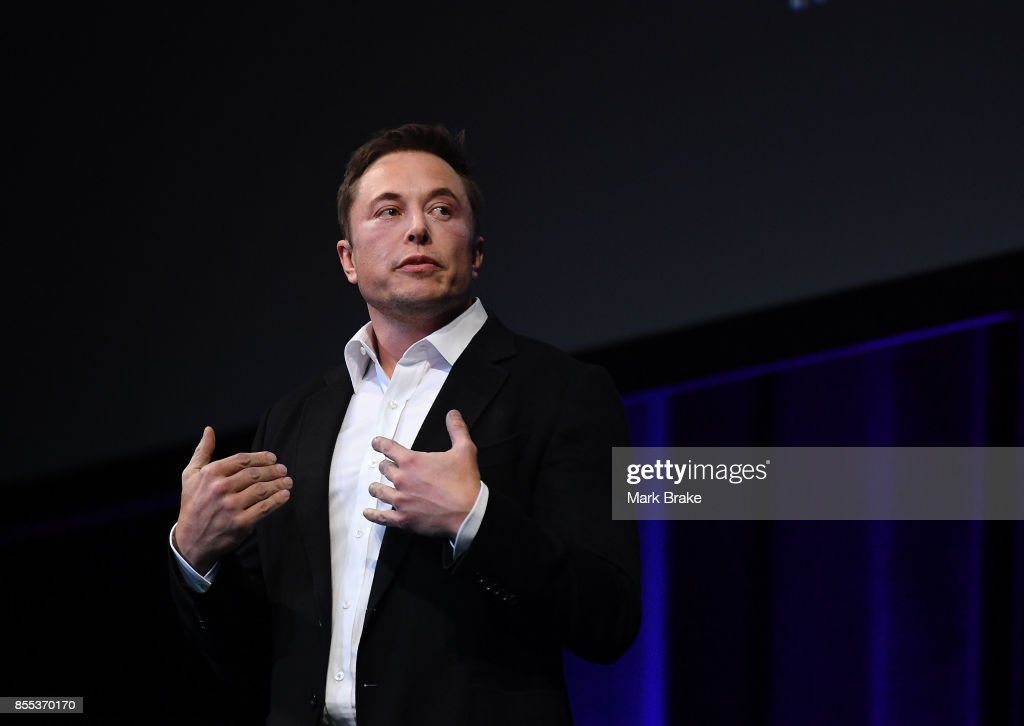 Elon Musk Presents SpaceX Plans To Colonise Mars : News Photo