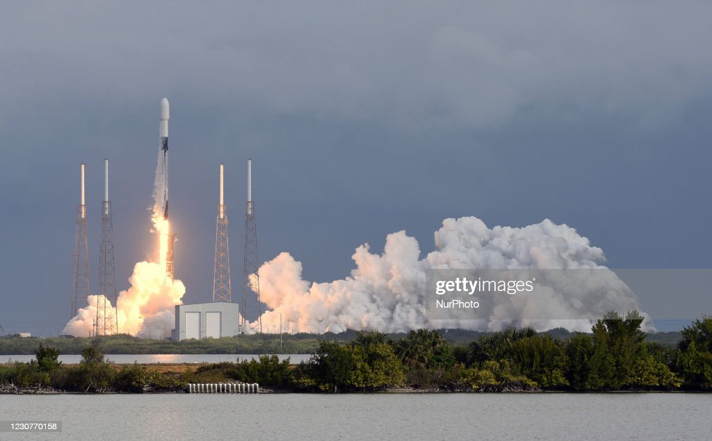 SpaceX Launches Transporter-1 Mission : News Photo