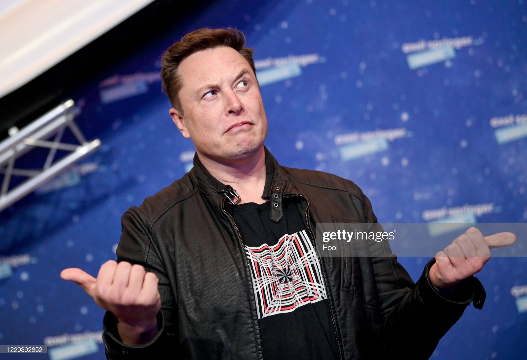 Elon Musk Awarded With Axel Springer Award In Berlin : News Photo
