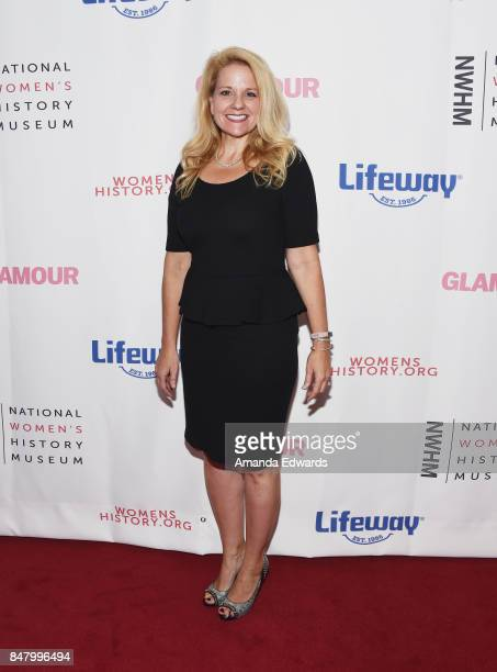 SpaceX President and COO Gwynne Shotwell arrives at the 6th Annual Women Making History Awards at The Beverly Hilton Hotel on September 16 2017 in...