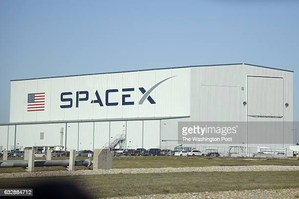 SpaceX processing building sits next to Launch Pad 39A at the Kennedy Space Center in Cape Canaveral Fla Wednesday Jan 25 2017