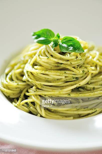 スパゲティ alla ・ジェノヴィーズ