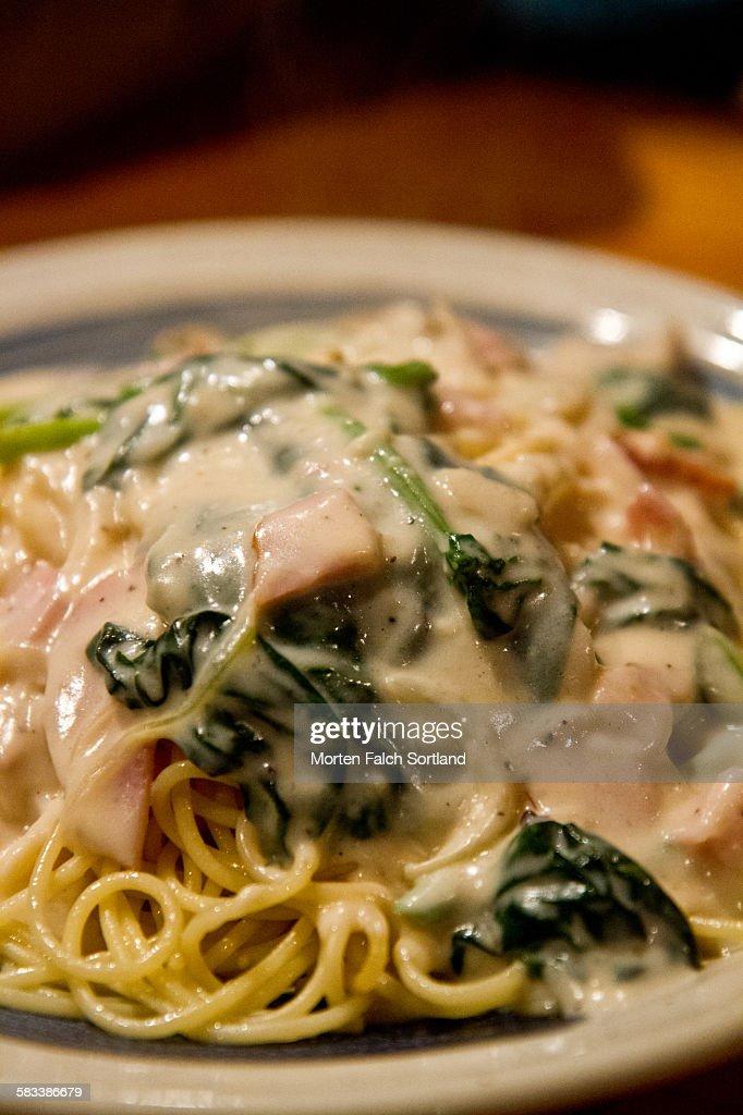 Spaghetti in Japan : Stock Photo