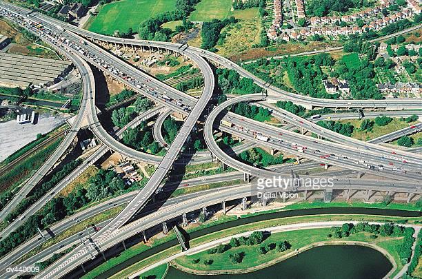 M6 Spaghetti Junction, England, UK
