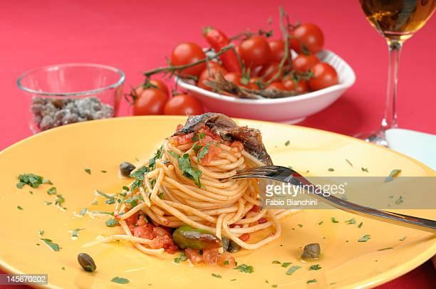 Spaghetti 'marinara'