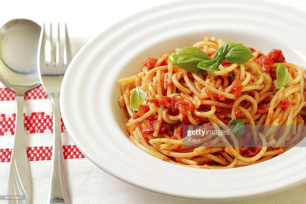 Espagueti : Foto de stock