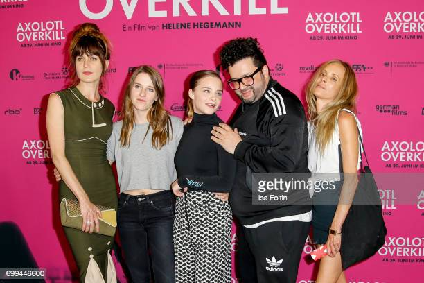 Spain actress Araceli Jover German director Helene Hegemann Swiss actress Jasna Fritzi Bauer German comedian and author Oliver Polak and German...