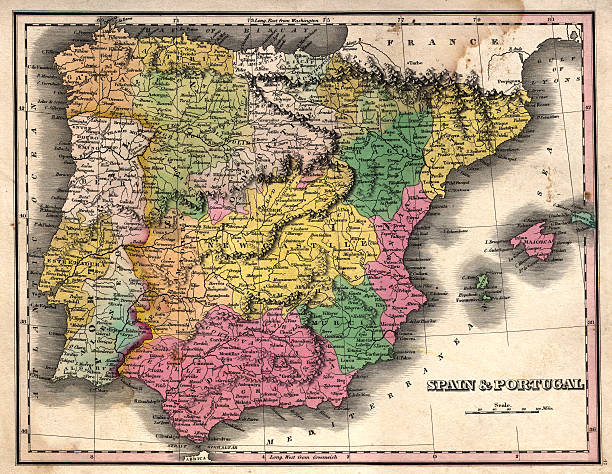 spain and portugal vintage map | Photos.com on map of spain country, map of england, map of spain africa, map of brazil, map of morocco, map of spain iberian peninsula, map of russia, map of spain galicia, map of spain wine regions, map of lisbon spain, map of spain spanish civil war, map of spain countries, map of spain to greece, map of spain art, train map spain and portugal, geographic map spain and portugal, map of spain in spanish, map of spain costa del sol, map of spain islands, map of france,