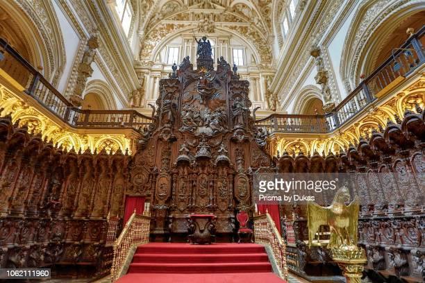 Spain Andalucia Cordoba City Cordoba Mosque the Cristian Cathedral