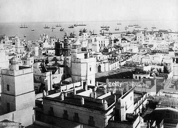 city of Cadiz probably in the 1910s