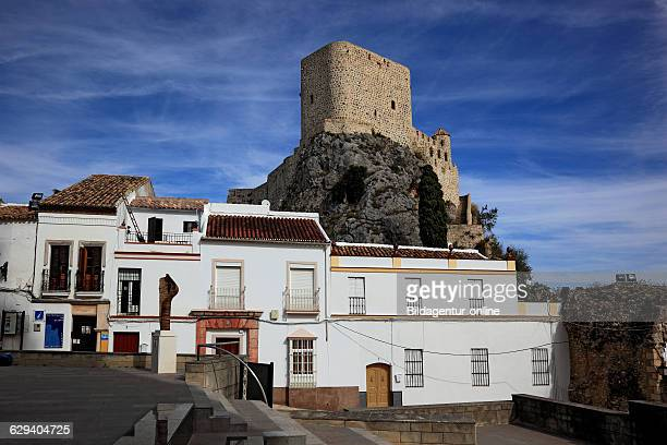 Spain Andalusia Olvera municipality in the province of Cadize gelegen at the Ruta de los Pueblos Blancos street to the White Towns of Andalusia...