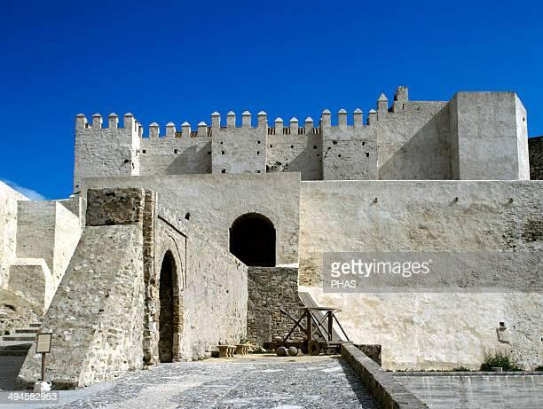 Spain Andalusia Tarifa Castle of Guzman the Good or Tarifa Castle 10th century Exterior