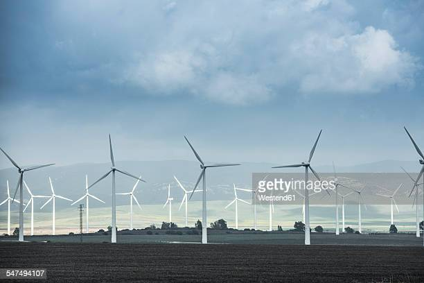 Spain, Andalusia, Tarifa, wind wheels