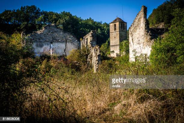 Janovas Village that was expropriated during the fifties as a result of the project of the construction of a dam on the Rio Ara that was never done...