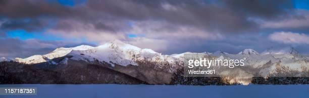 spain, asturias, cantabrian mountains, mompodre mountain massif - provinz leon stock-fotos und bilder