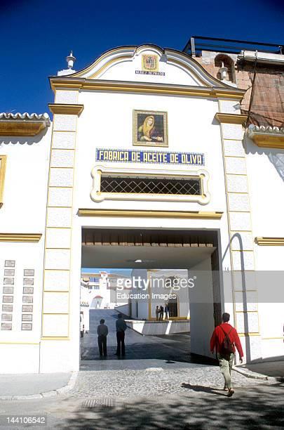 Spain Baena Entrance To The Nunez De Prado Olive Oil Mill