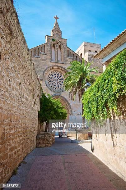Spain, Balearic Islands, Mallorca, Alcudia, Church of St Jaume