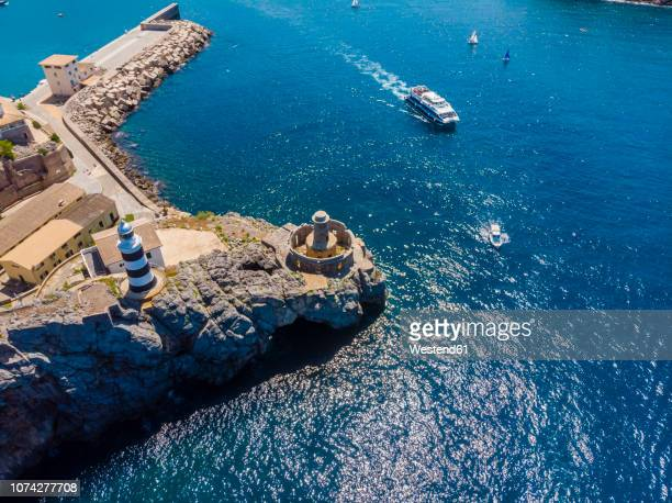 Spain, Balearic Islands, Mallorca, Serra de Tramuntana, Port de Soller