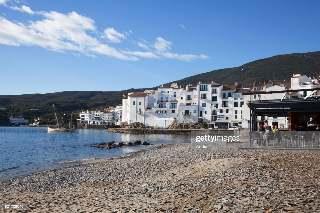 the village of Cadaques on the Costa Brava, Spain, location of famous artist Salvador Dali's summer home.