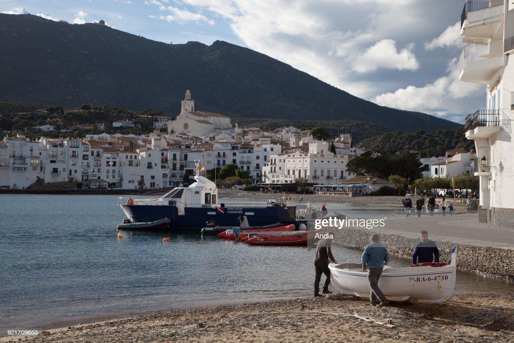 Cadaques, the village. : News Photo