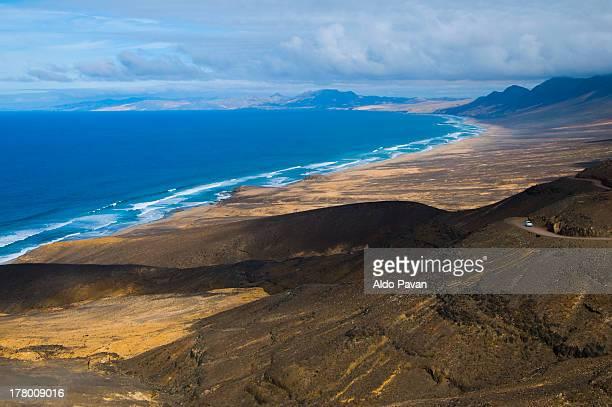 Spain, Canary, Fuerteventura, El Cofete beach