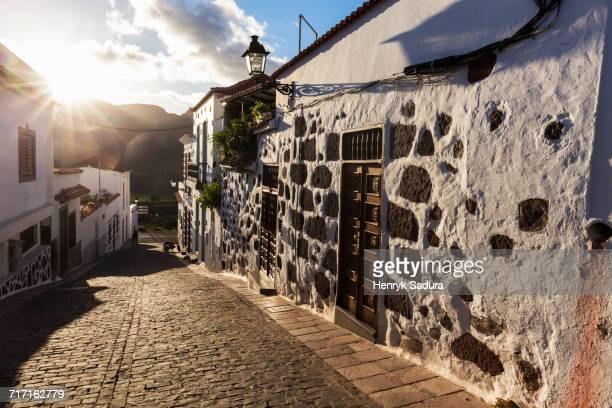 Spain, Canary Islands, Gran Canaria, Old town of Santa Lucia de Tirajana