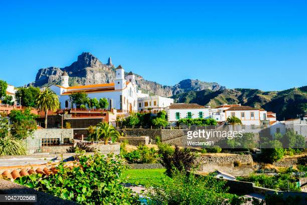 spain, canary islands, gran canaria, tejeda - grand canary stock pictures, royalty-free photos & images