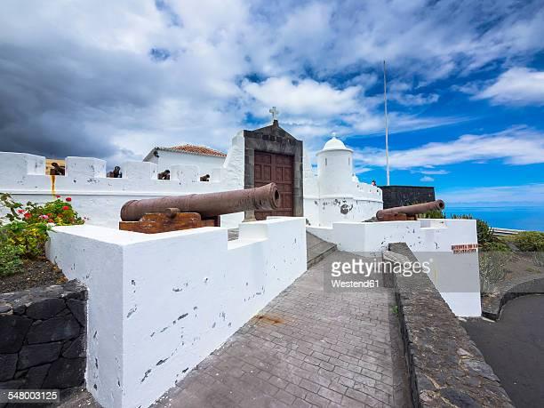 Spain, Canary Islands, La Palma, Santa Cruz de la Palma, Castillo de la Virgen