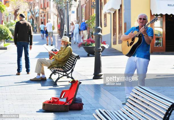 ESP Spain Canary Islands La Palma towns villages and places on the green Canary Island Los Llanos de Ariadne