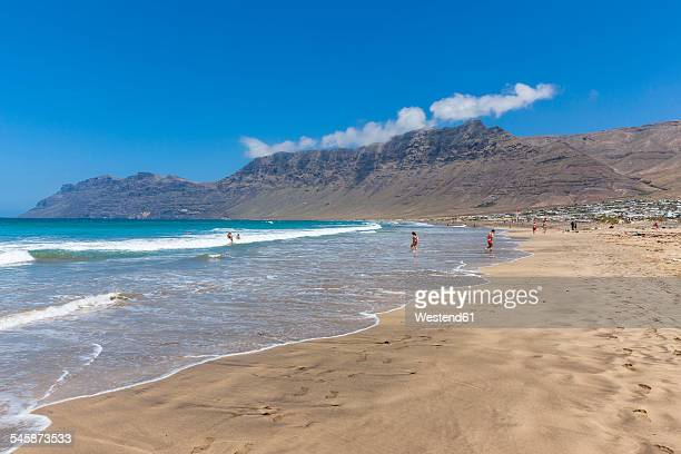 Spain, Canary Islands, Lanzarote, Los Valles, Playa de Famara