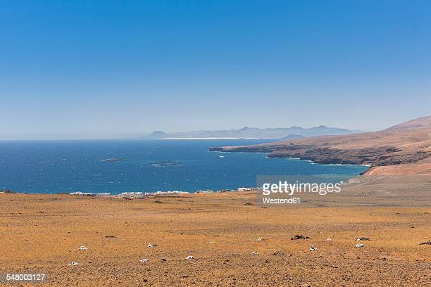 Spain, Canary Islands, Lanzarote, Puerto Calero, view to Playa Quemada