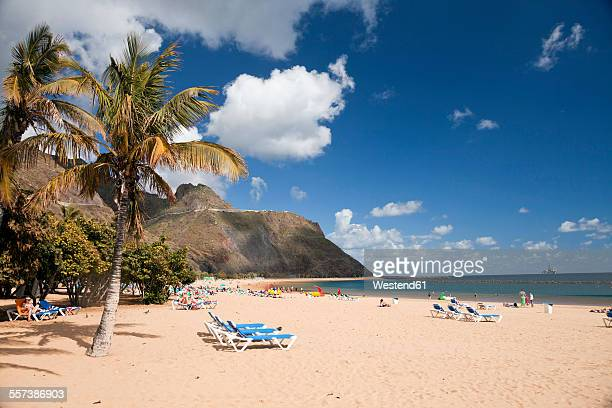 Spain, Canary Islands, Tenerife, beach Playa de Las Teresitas