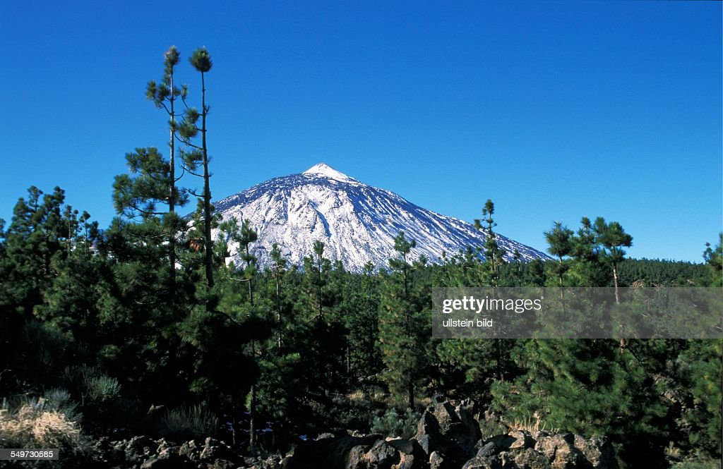 Teide Nationalpark : News Photo
