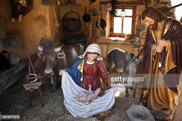 Spain Canary Islands Tenerife El Monasterio Nativity Tableau